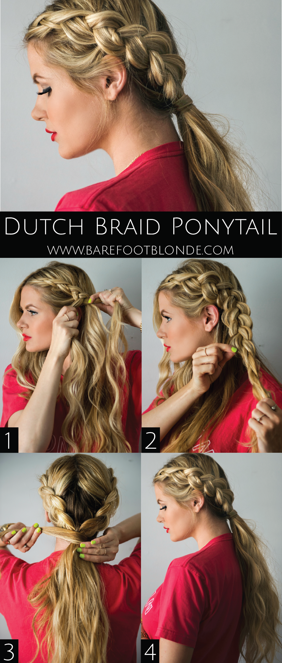 Dutch Braided Headband: Barefoot Blonde By Amber Fillerup Clark