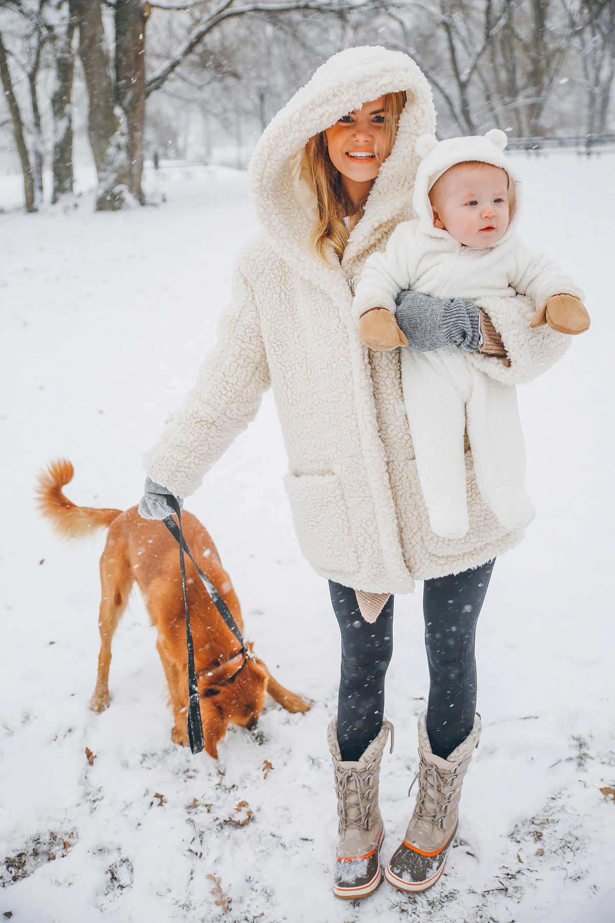 First Real Snow Barefoot Blonde By Amber Fillerup Clark