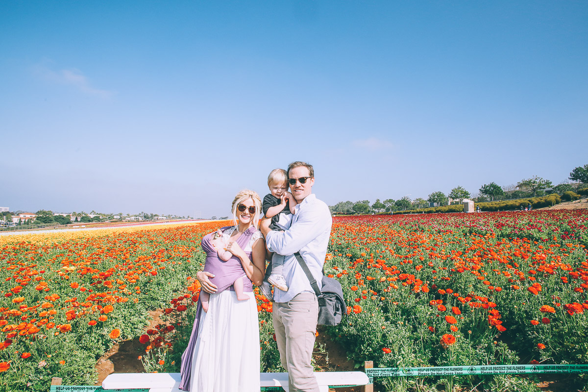 Barefoot Blonde Carlsbad Flower Fields