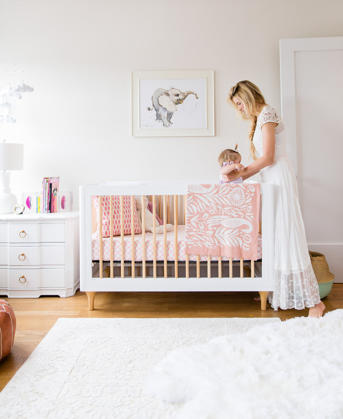 Apartment Reveal: Rosie\u0027s Nursery + Master Bedroom! - Barefoot ...