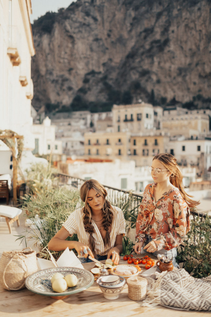 5 Health Benefits of the Mediterranean Diet - Images from BFB Hair Everywhere trip on the coast of Italy.