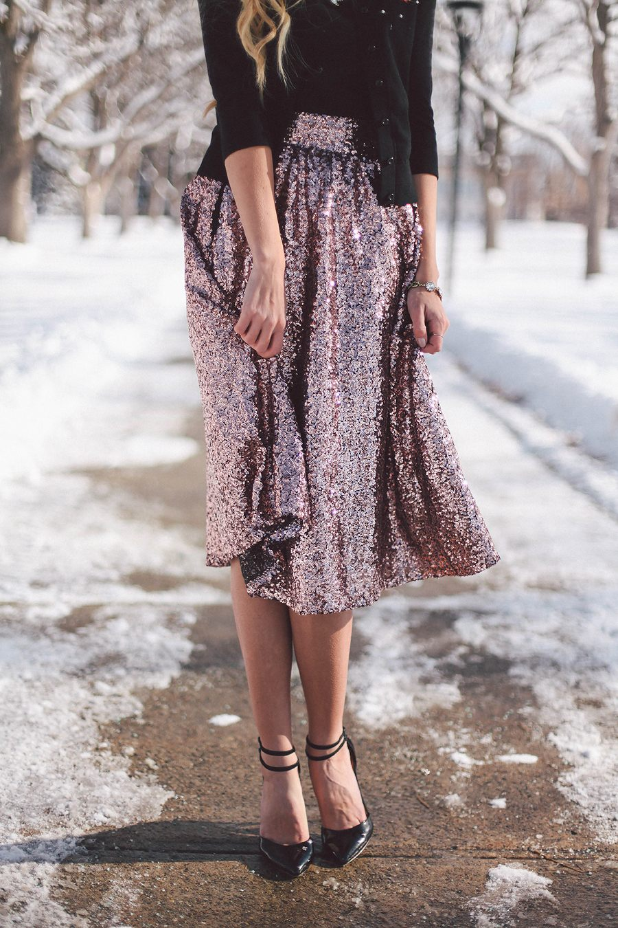 Holiday Series: Sequin Skirt