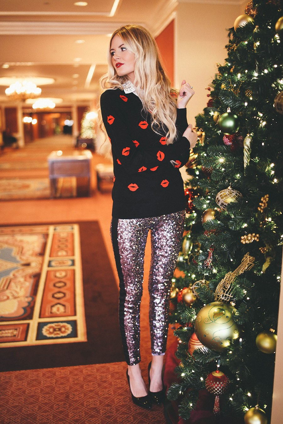 Barefoot Blonde - Sequin Pants