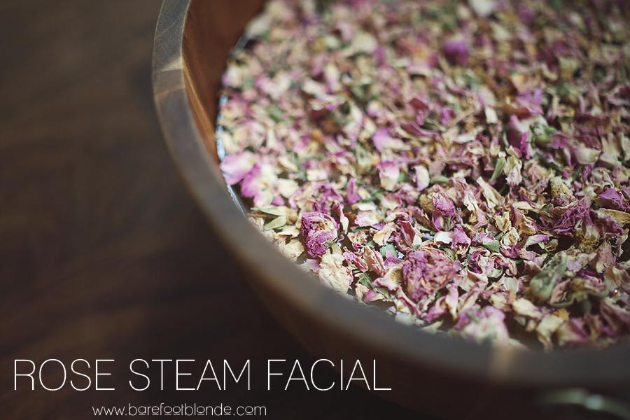 Rose Steam Facial