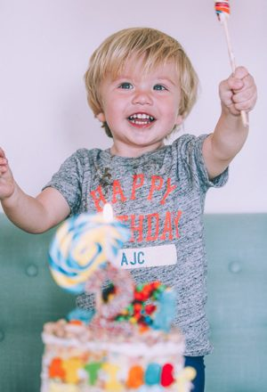 Atticus' 2nd Birthday